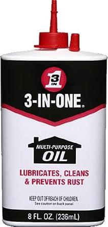 3-IN-ONE Multi-Purpose Oil, 8 oz.