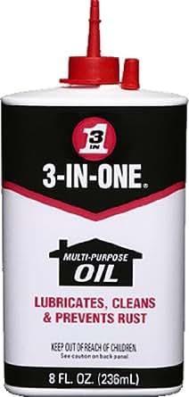 3-IN-ONE 10038 Multi-Purpose Oil, 8 oz. (Pack of 1)