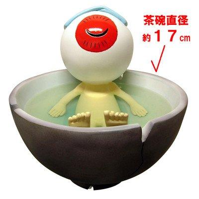 ゲゲゲの鬼太郎フィギュア 茶碗風呂 目玉おやじ