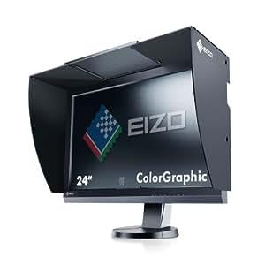 Eizo CG246-BK 61 cm (24 Zoll) widescreen TFT-Monitor (LED, HDMI, DVI, 7,7ms Reaktionszeit, USB) schwarz