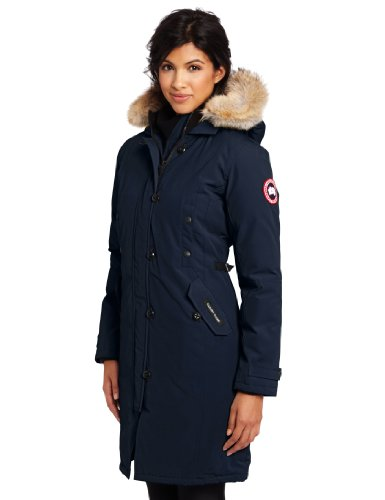 Canada Goose Ladies Kensington Parka,Navy,Large (Canada Goose Navy Women compare prices)