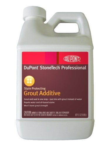 Dupont stonetech stain protecting grout additive 27oz bottle hardware building materials for Dupont heavy duty exterior sealer