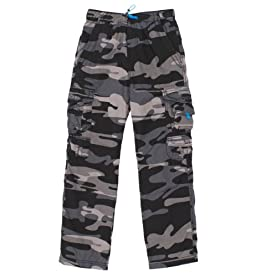 Boys Brooks 360 Camo Cargo Pants
