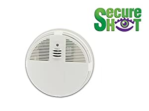 SMOKE DETECTOR SPY CAMERA-SIDE VIEW-1 YEAR STANDBY BATTERY, MOTION ACTIVATION