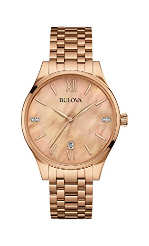 bulova-womens-quartz-watch-with-mother-of-pearl-dial-analogue-display-and-rose-gold-rose-gold-bracel