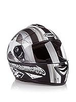 Römer Casco de Moto Star Integral (Negro / Plata)