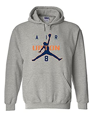 "Justin Upton Detroit Tigers ""Air Upton"" Hooded Sweatshirt"