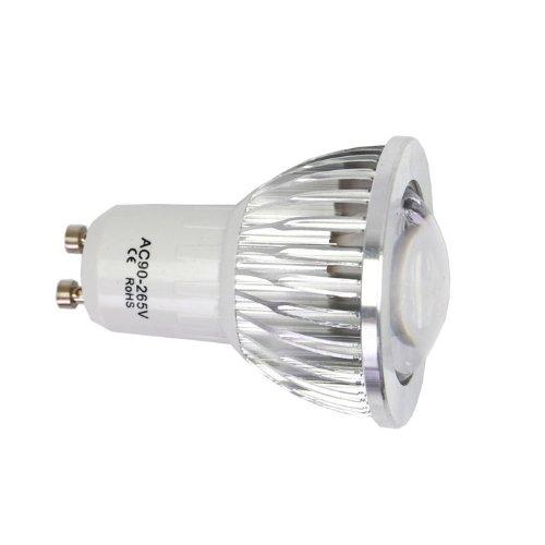 Eyourlife New 2PC Ultra Bright Gu10 dimmbar 6W LED Spot unten Light Deckenleuchte Leuchtmittel K¨¹hles Wei?