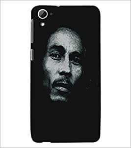 PrintDhaba Serious Face D-5413 Back Case Cover for HTC DESIRE 826 (Multi-Coloured)