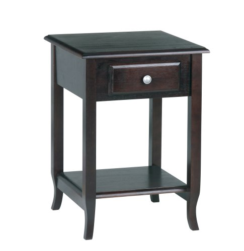 Office Star Merlot Accent Table