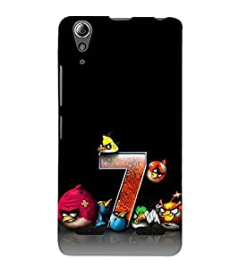 Vizagbeats 3D Angry Birds Back Case Cover for Lenovo A6000 Plus