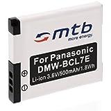 Batterie DMW-BCL7 pour Panasonic Lumix DMC-F5, FH10, FS50, SZ3, SZ9, XS1