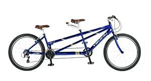 Viking Regency 26W 24 SPD Tandem Bike - Royal Blue, 19/17 Inch from Viking