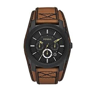 Fossil - FS4616 - Montre Homme - Quartz Chronographe - Chronomètre - Bracelet Cuir Marron