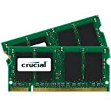4GB kit (2GBx2) Upgrade for a Dell Vostro 1500 System (DDR2 PC2-6400, NON-ECC, )