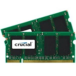 2GB kit (1GBx2) Upgrade for a Dell Inspiron 6000 System (DDR2 PC2-5300, NON-ECC, )