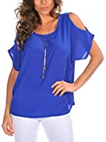 Bleu Marine Blusa Liv (Azul)