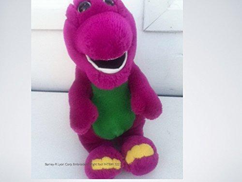 "11"" Barney The Purple Dinosaur Golden Bear Co. / Lyons front-535454"