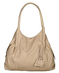 Fostelo Women's Style Diva Shoulder Bag (Cream) (FSB-785)