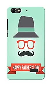 KnapCase Happy Father's Day Designer 3D Printed Case Cover For Huwaei Honor 4C