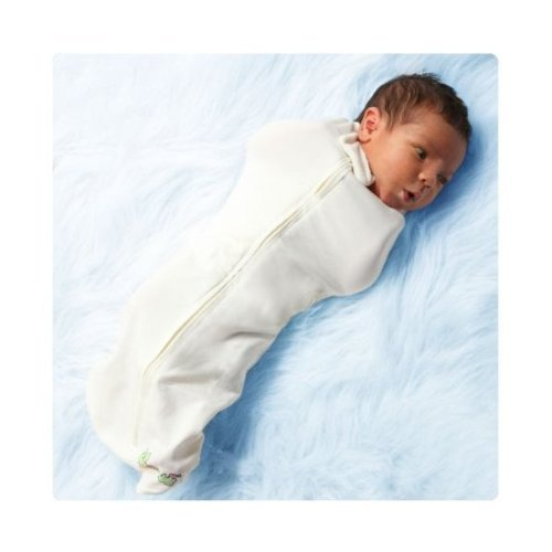 The Organic Woombie Baby Cocoon Swaddle (Big Baby (14-19 Lbs), Au'Naturale) By Kb Designs