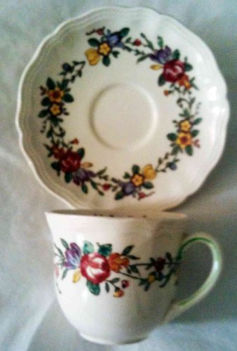 Royal Doulton Leighton Tea Cup And Saucer