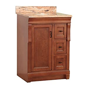 foremost nacaseb2522d naples 25 inch width x 22 inch depth vanity with