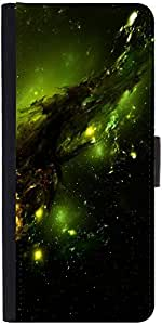 Snoogg Abstract Spacedesigner Protective Flip Case Cover For Samsung Galaxy N...