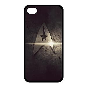 Star Trek Back Case Cover For Apple iPhone 4 4S (Silicone Rubber)
