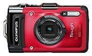 OLYMPUS デジタルカメラ STYLUS TG-2 レッド 1200万画素CMOS 15m防水 2.1m耐落下衝撃性能 -10℃耐低温 100kgf耐荷重 TG-2 RED