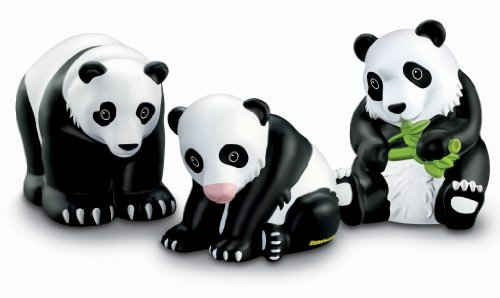 Fisher-Price Little People Zoo Talkers Panda Bears Family Pack - 1