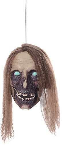 Undead Cathy Hanging Head Halloween Prop Haunted House Yard Scary Garden Decor