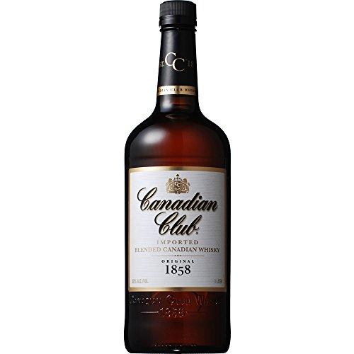 カナディアン ウイスキー カナディアンクラブ リッターボトル 1000ml