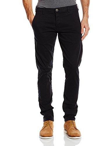 SELECTED HOMME - SHHONELUCA ST PANTS NOOS, Pantaloni uomo, Black, W34/L32 (Taglia produttore: 34)