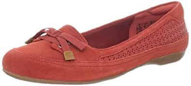 Timberland Women's Falmouth Ballerina Flat,Red Rouge,9.5 M US