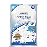 Dentek Comfort Clean Cool Mint Floss Picks 90 Pk, 2pk USA