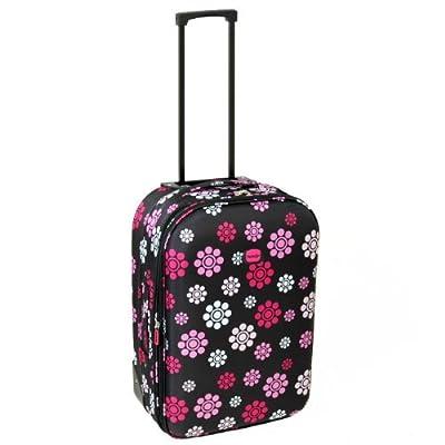 Karabar Cabin Approved Lightweight Suitcase (Daisy Black) from Karabar