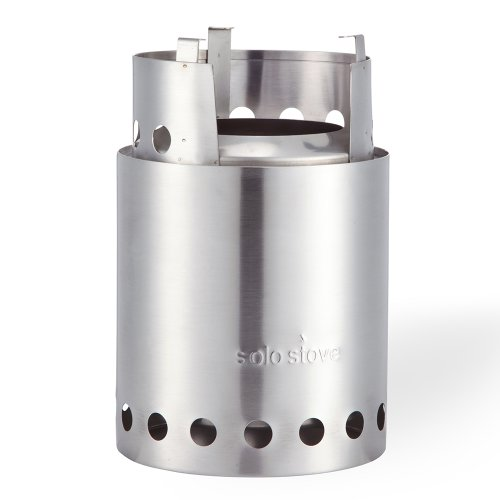 Solo Stove Titan - Larger Version of Original Solo Stove. Super-efficient Wood Burning Backpacking Stove. Great for Camping, Hiking, Survival, Emergency Preparation
