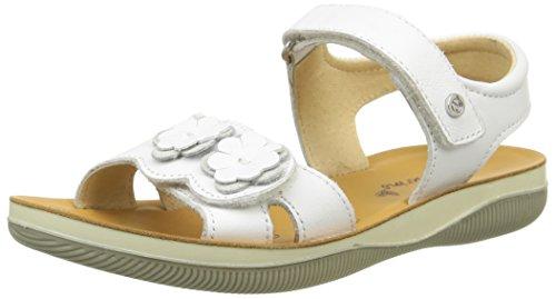 Naturino5730 - Sandali Bambina , Bianco (bianco), 32