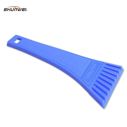 Iuhan Fashion Car vehicle Snow Ice Scraper SnoBroom Snowbrush Shovel Removal Brush Winter (Cone Brush compare prices)