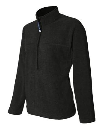 Colorado Trading Company Ladies' Classic Fleece ½ Zip Pullover, S, Black