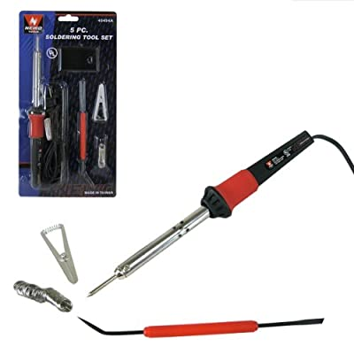Neiko 40494A Soldering Iron Kit Set, 5-Piece