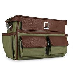 Lencca Coreen Camera Carrying Bag for Pentax MX-1 Digital Camera