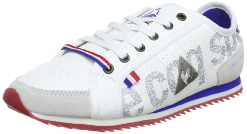Le coq Sportif ESCRIME BBR RUNNER LOW WOMEN Trainers Womens White Weià (Bright White) Size: 6 (39 EU)