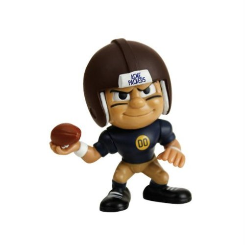 Green Bay Packers NFL Lil Teammates Vinyl Throwback Quarterback Figure (2 3/4 Tall) (Series 3) by Party Animal (Lil Teammates Green Bay compare prices)