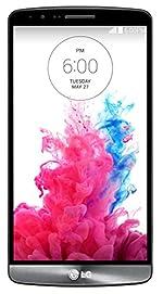 LG G3 D855 32GB 4G LTE Unlocked GSM Quad-HD Android Smartphone - Metallic Black