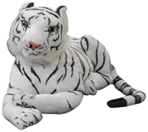 Play n Pets PNP-1428 Tiger, White