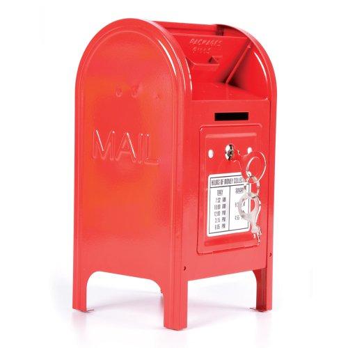 """Rhode Island Novelty 7.5"""" Metal Mailbox Bank"""
