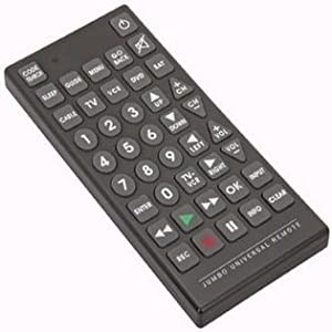 Jumbo Universal Remote Controls Up To 8 Devices at Once by USA CASH AND CARRY- RoyalCraft TM.