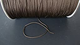 25 YARDS :1.4 MM Professional CHOCOLATE LIFT CORD for Blinds, Roman Shades & More